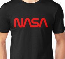 NASA Worm logo Unisex T-Shirt