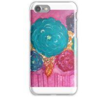 Impressionistic Flowers iPhone Case/Skin