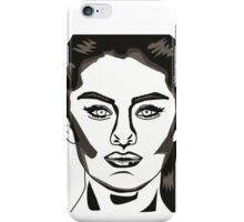 Selena Gomez Illustration iPhone Case/Skin