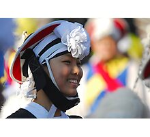 Traditional Korean Band Member 3 Photographic Print