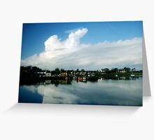 Small Ireland Town Greeting Card