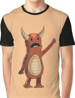 Lonely Monster Graphic T-Shirt