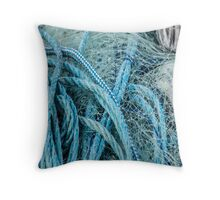 Net and Rope in Harmony Throw Pillow