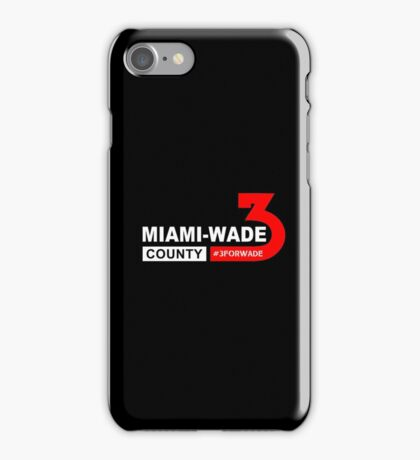 miami wade county iPhone Case/Skin