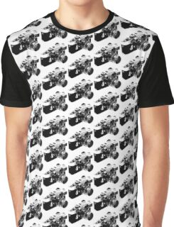 Rangefinder Pattern Graphic T-Shirt