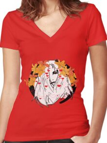 Air - The Virgin Suicides Women's Fitted V-Neck T-Shirt