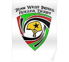 Team West Indies Tri Colour Logo Poster