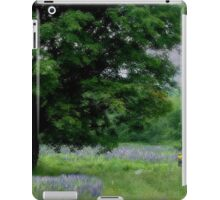 A Childs Walk Among Lupine iPad Case/Skin
