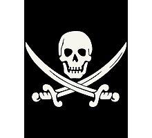 White Pirate Photographic Print
