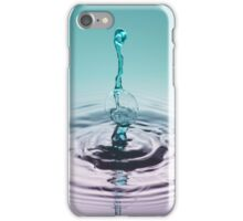 Turquoise Python ~ Water Drops iPhone Case/Skin