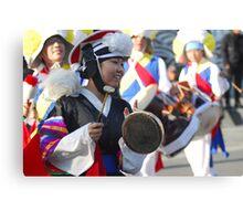 Traditional Korean Band Member 4 Canvas Print