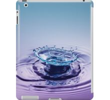 Turquoise Sombrero ~ Water Drops iPad Case/Skin