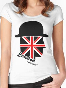 London Gentleman by Francisco Evans ™ Women's Fitted Scoop T-Shirt