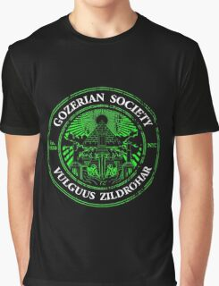 Gozerian Society - Green Slime Variant Graphic T-Shirt