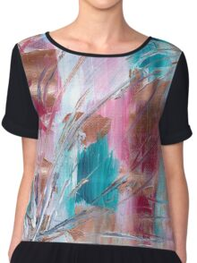 Animus Mayhem - Abstract Painting Chiffon Top