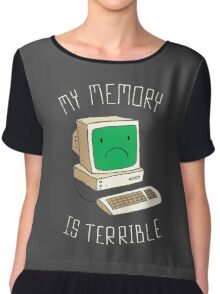 My Memory Is Terrible Chiffon Top