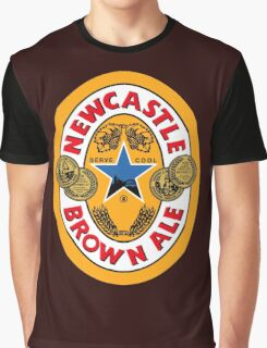 NEWCASTLE BROWN ALE Graphic T-Shirt