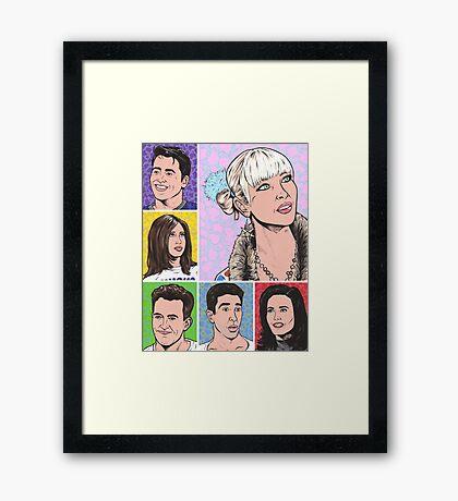 Friends Tv Show Framed Print