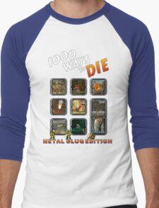 1000 ways to die - Metal Slug Edition Men's Baseball ¾ T-Shirt