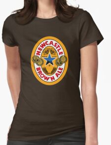 NEWCASTLE BROWN ALE Womens Fitted T-Shirt