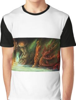 Lost in a Cave Graphic T-Shirt