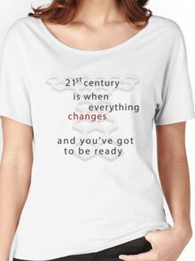 Torchwood 21st century Women's Relaxed Fit T-Shirt