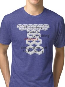 Torchwood 21st century Tri-blend T-Shirt