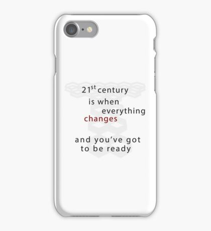 Torchwood 21st century iPhone Case/Skin