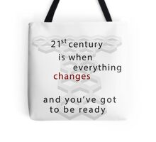 Torchwood 21st century Tote Bag