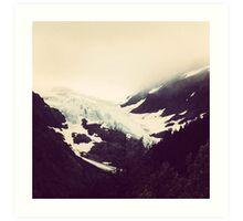 Alaskan Glaciers Art Print