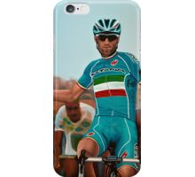 Vincenzo Nibali Painting iPhone Case/Skin