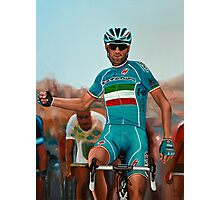 Vincenzo Nibali Painting Photographic Print