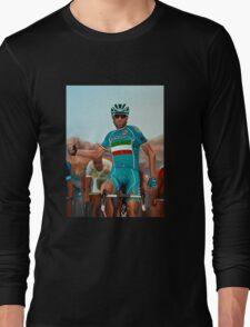 Vincenzo Nibali Painting Long Sleeve T-Shirt