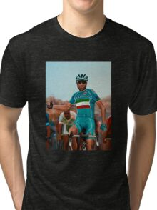 Vincenzo Nibali Painting Tri-blend T-Shirt