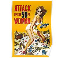Attack of the Fifty ft. Woman Poster