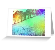 Colorful nature Greeting Card