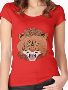 Yarn Tiger Women's Fitted Scoop T-Shirt