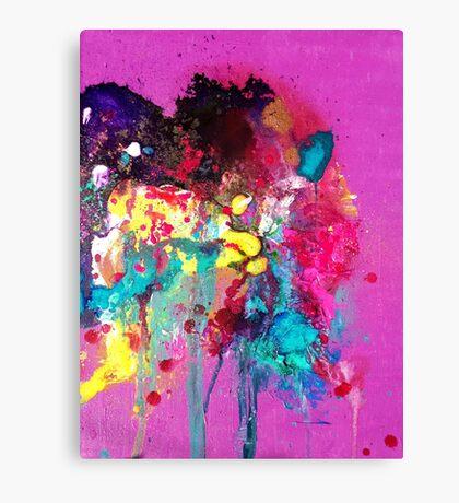 Swimming in Colour.  Canvas Print