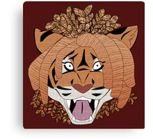 Yarn Tiger Canvas Print