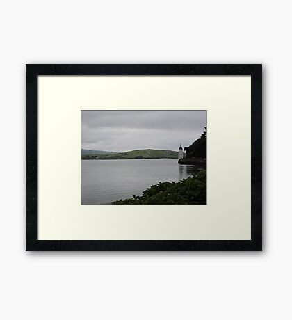 Lonesome Tower Framed Print