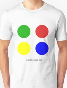 Right Hand Red Unisex T-Shirt