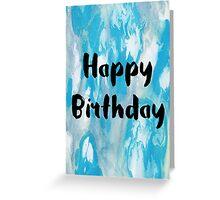 Happy Birthday #2 Greeting Card