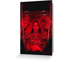 QUEEN BEY - Formation World Tour Greeting Card