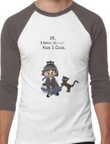 Impractical Jokers: Cartoon Q Men's Baseball ¾ T-Shirt