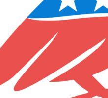 Progressive Party Sparrow Sticker