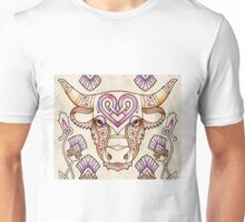 highland celtic cow and thistles Unisex T-Shirt