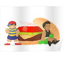 Smash Food - Burger Boys Poster
