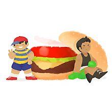 Smash Food - Burger Boys Photographic Print