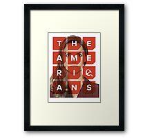 The Americans - Elizabeth Framed Print