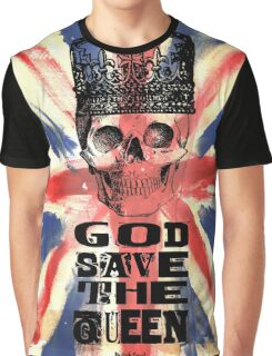 GOD SAVE THE QUEEN JACK Graphic T-Shirt
